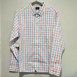 NEW UNTUCKit Button Up Long Sleeve Shirt Size XL